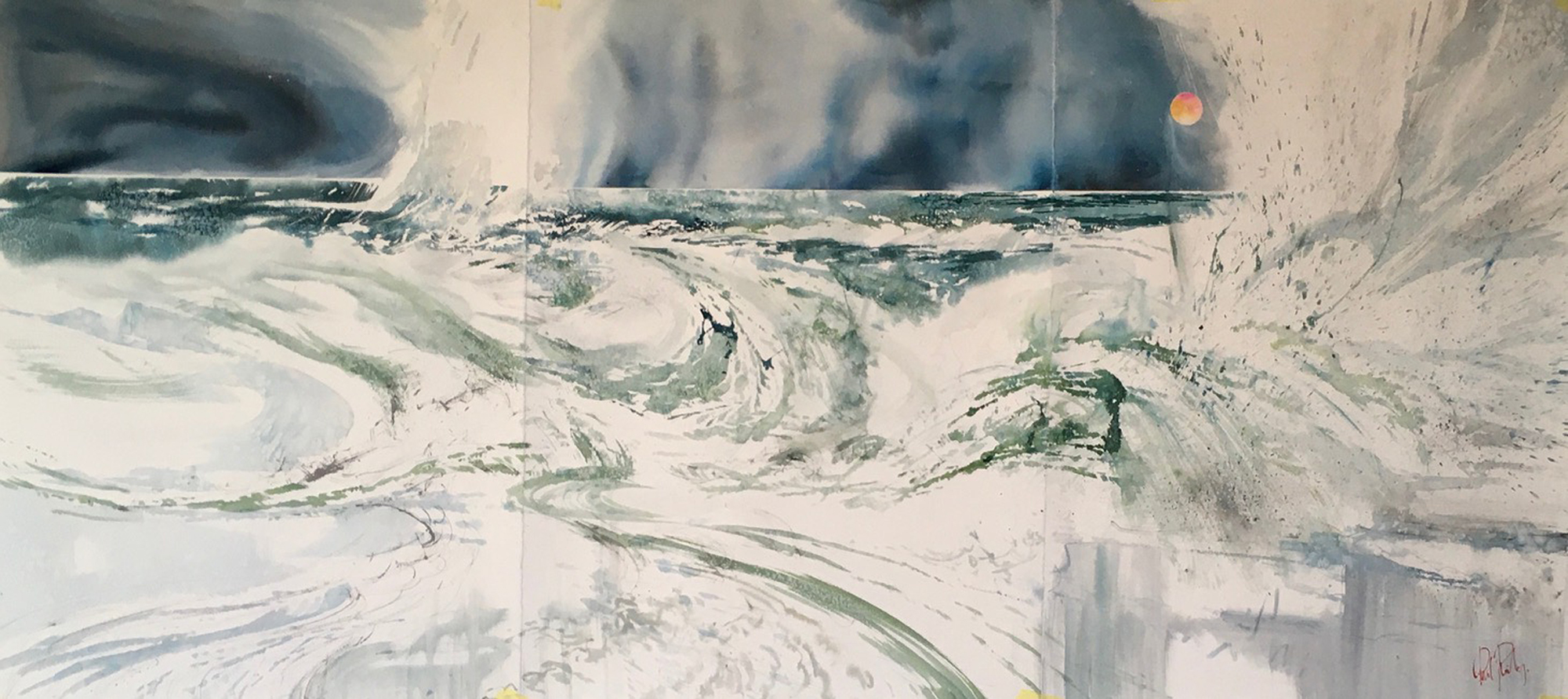 Sea Spray 76 x 1750 cms